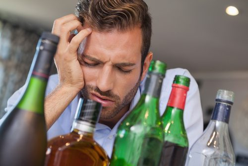 A single episode of binge drinking can result in withdrawal symptoms.